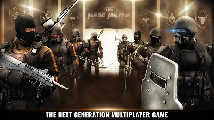 MazeMilitia: LAN, Online Multiplayer Shooting Game (Unreleased)- screenshot