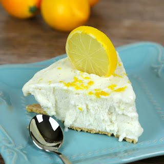 No Bake Lemon Icebox Pie Recipe