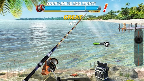 Screenshot 1 Fishing Clash: Catching Fish Game. Bass Hunting 3D 1.0.42 APK MOD