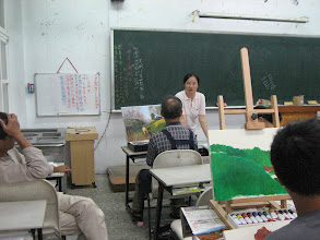 Photo: 20110920頭份(二)油畫創作 002