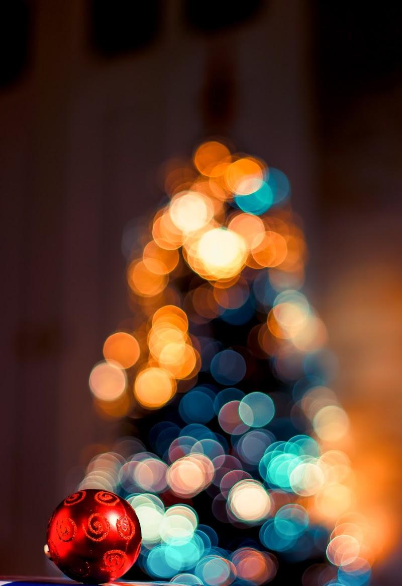 Christmas Bokeh di marco la torre
