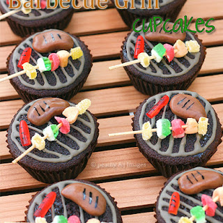 Barbecue Grill Cupcakes