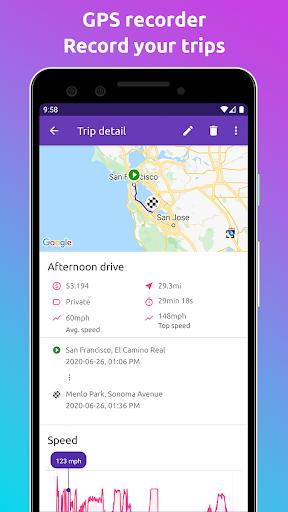 Fuelio: gas log, costs, car management, GPS routes screenshot 6