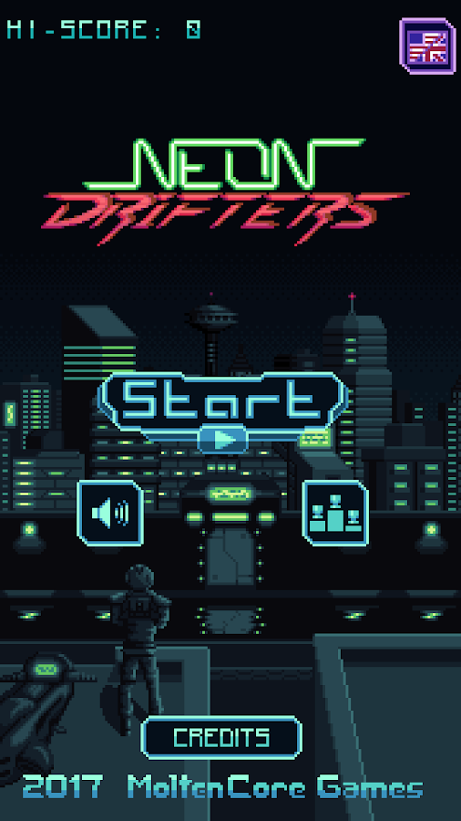 Neon Drifters- screenshot