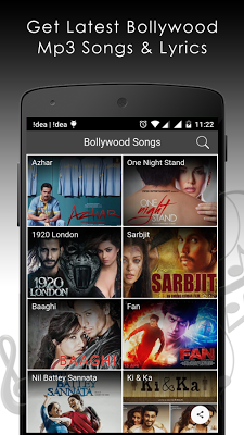 Bollywood Songs & Lyrics - screenshot