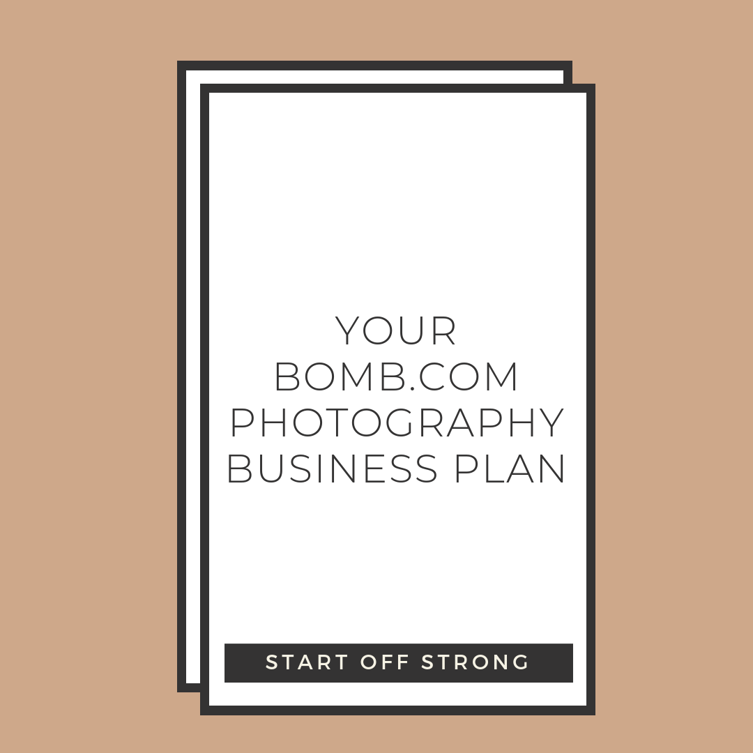 Your Bomb.com Photography Business Plan