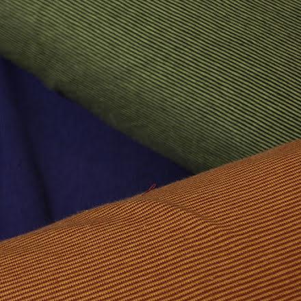 Smalrand Bomullstrikå - flera färger