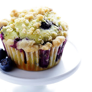 Blueberry Avocado Muffins.