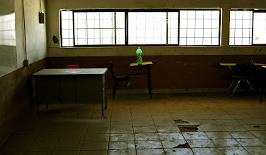 Photo: No More Graduations | Empty classroom in an old school building near Tecate, Mexico © 2007 Ryan Lynham