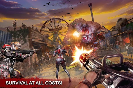DEAD WARFARE: Zombie Shooting Games PvP App Latest Version Download For Android and iPhone 5