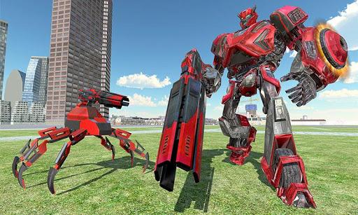 US Police Transform Iron Robot Spider Hero 1.0.3 screenshots 2