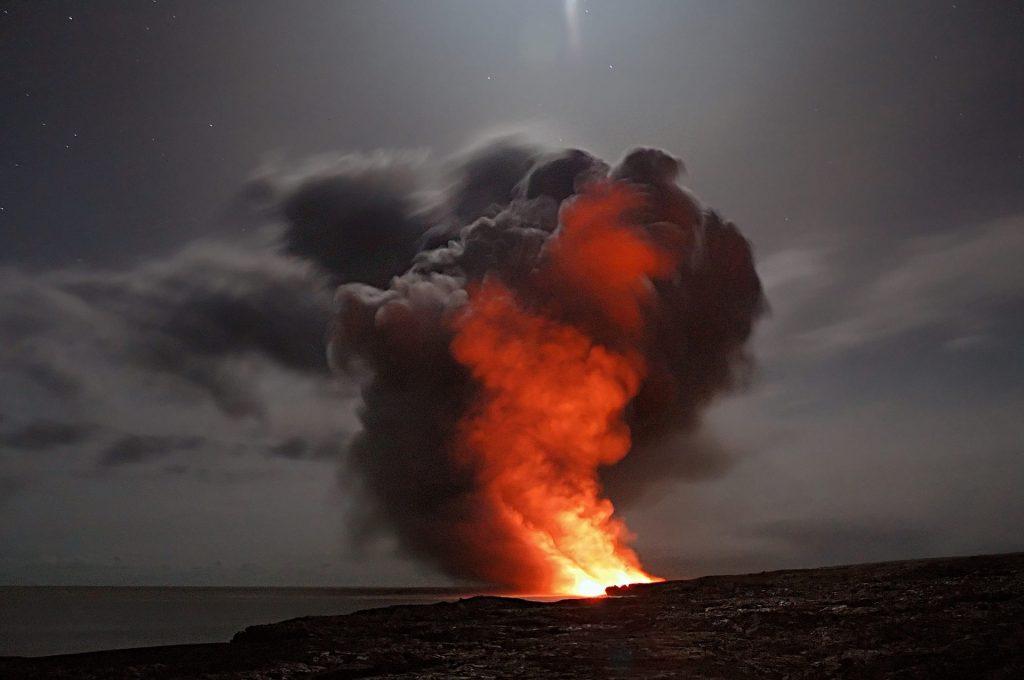 significato cambiamento climatico vulcano