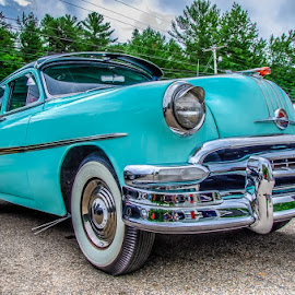 Old Classic by Chris Cavallo - Transportation Automobiles ( truck, car show )