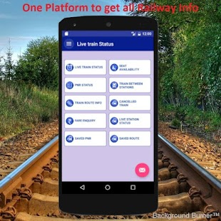 Live Indian Rail Train Info- screenshot thumbnail