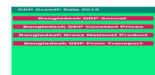 GDP Growth Rate 2019 - Apps on Google Play