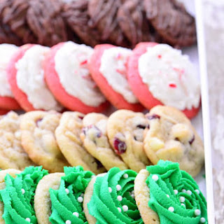 Four Christmas Cookies From One Basic Dough.