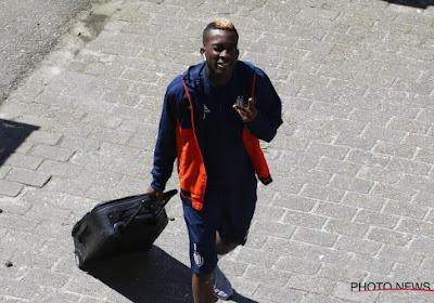 Fâché, Henry Onyekuru n'est pas venu à l'entraînement d'Anderlecht cette semaine