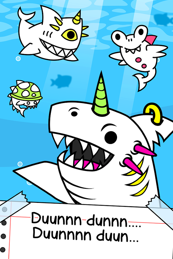Shark Evolution - Fierce Shark Making Clicker- screenshot