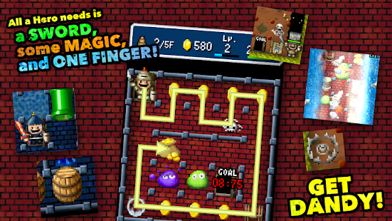 DANDY DUNGEON Screenshot