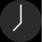 """8 o""""clock clock icon"""