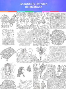 Coloring Book 2017: miniatura de captura de pantalla