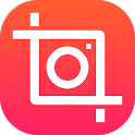 square snap pic collage icon