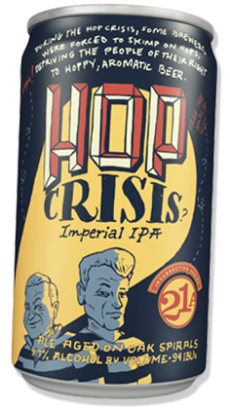 Logo of 21st Amendment Hop Crisis