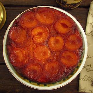 Caramelized Apricot Cake