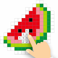In.Pixel - Color by Number & Coloring Art icon