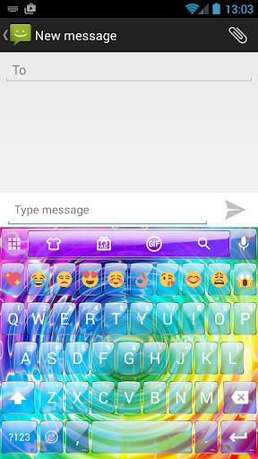 Glass Ripple Emoji Keyboard