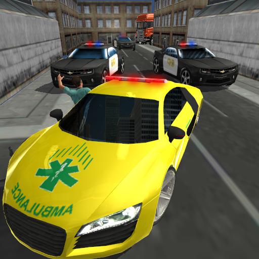 救急車のレスキュー:都市マニア 模擬 App LOGO-APP試玩