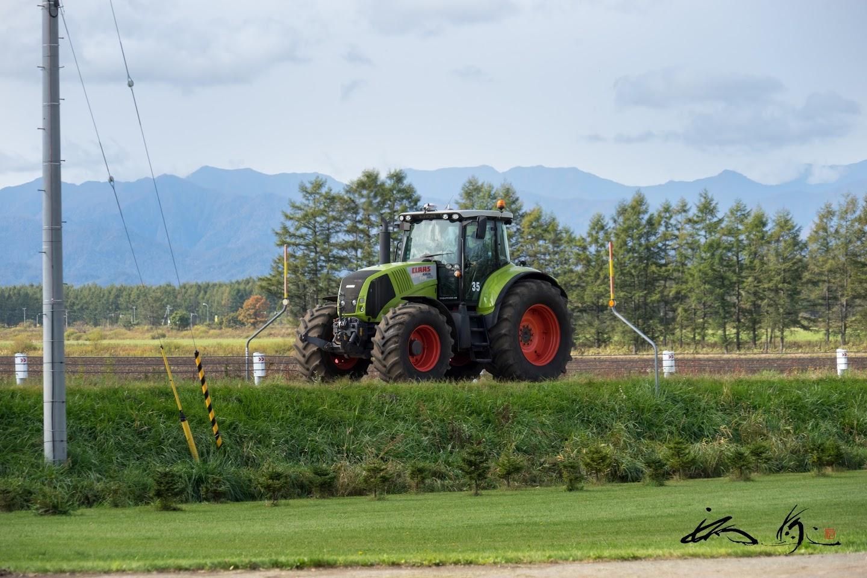 農道を走行体験