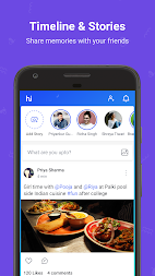 hike messenger: Stickers, Hidden Chat, Timeline APK screenshot thumbnail 7