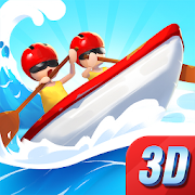 Boat Rider - 3D Kayak Row Race Master