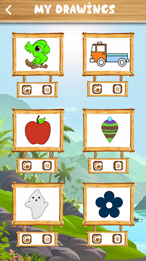 Coloring Book for Kids - Drawing & Learning Game 1.2 screenshots 6
