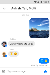 Messenger Lite- screenshot thumbnail