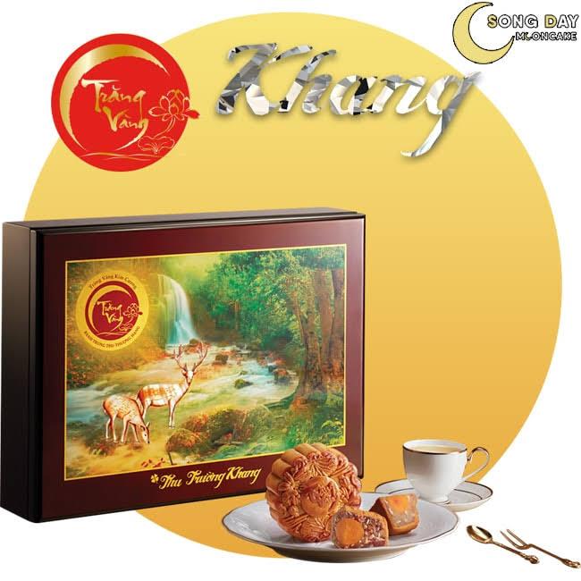 Hộp Kinh Đô trăng vàng kim cương trường khang