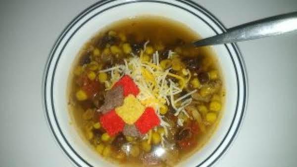 My Crockpot Chicken Tortilla Soup