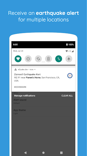 eQuake - Earthquake Alerts Apk 2