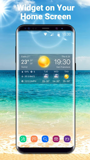 Local Weather Widget&Forecast 15.1.0.45651 screenshots 1