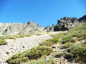 Photo: Ya se ve el Callejo Grande, a la izquierda del Diente del Oso