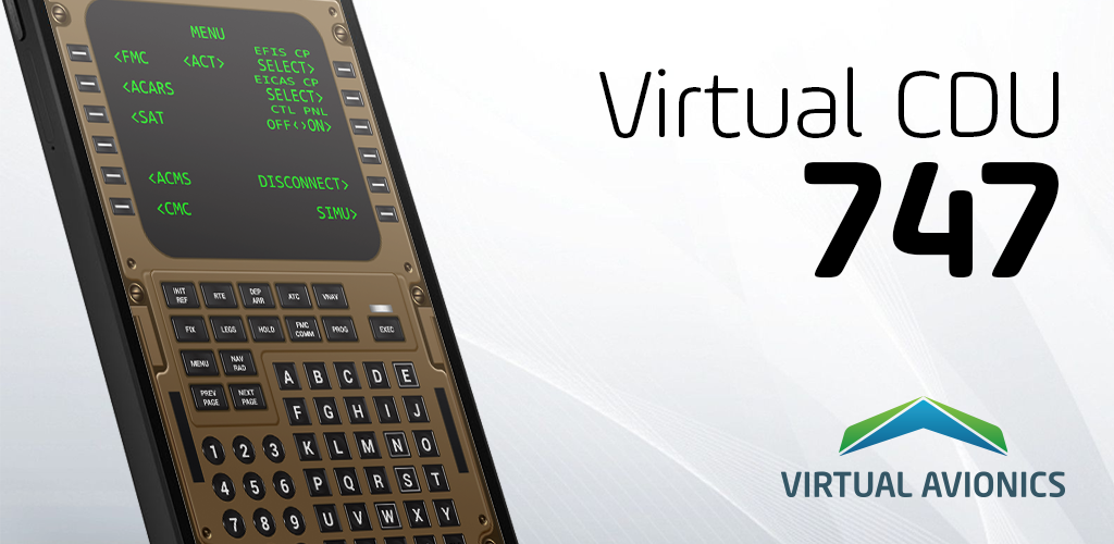 Virtual CDU 747 0 Apk Download - com virtualavionics vcdu747