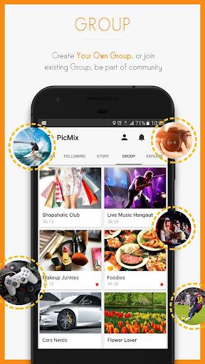 PicMix - Selfie and Friends 7.8.0 screenshots 4
