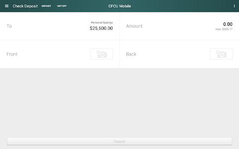 CFCU Mobile banking screenshot 9