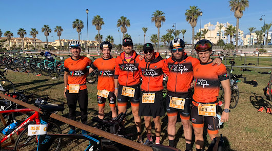 Los integrantes del C.D. Triatlon El Ejido están de vuelta