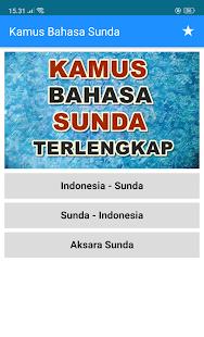 Kamus Bahasa Sunda Indonesia Offline Lengkap On Windows Pc Download Free 8 2 9 Com Tkzapps Kamusbahasasundalengkap