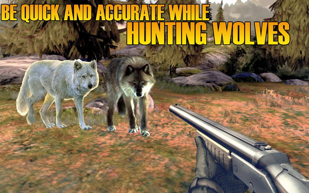 Wolf Hunting Adventure - 3D- screenshot