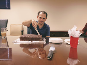 Photo: Happy Birthday to Mercantile Capital Corporation's Special Projects Manager, Nikos!