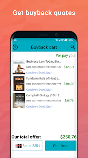 BooksRun: sell used, old or new books & textbooks- screenshot thumbnail