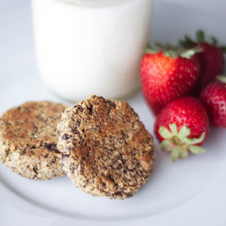 Almond Chia Seed Energy Cookies.